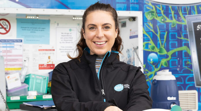 GP pharmacist Kate Fulford MPS is part of the Street Doctor team