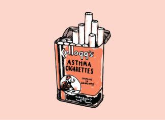 Asthma cigarette