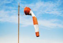 deflated wind sock