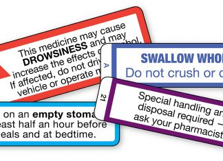cautionary advisory labels