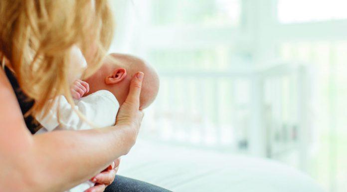 breast-fed infants