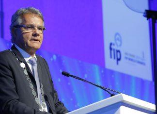 FIP President Dominique Jordan