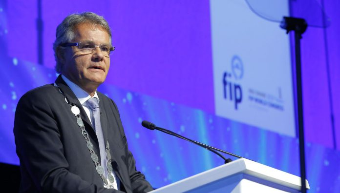 FIP President Dominique Jordan