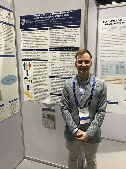 Jack Collins MPS was awarded a FIP Foundation Young Pharmacists Group Grant for Professional Innovation