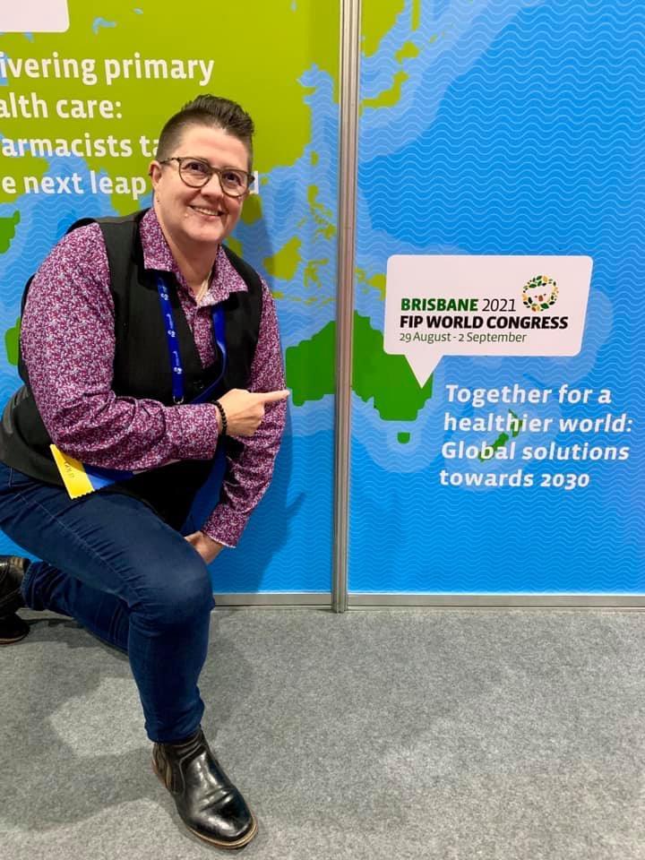 Professor Lisa Nissen FPS at the FIP congress