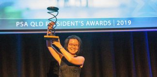 Queensland Bowl of Hygeia Pharmacist of the Year Vivien Hsu MPS