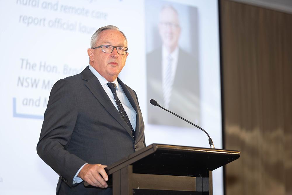 NSW Minister for Health Brad Hazzard
