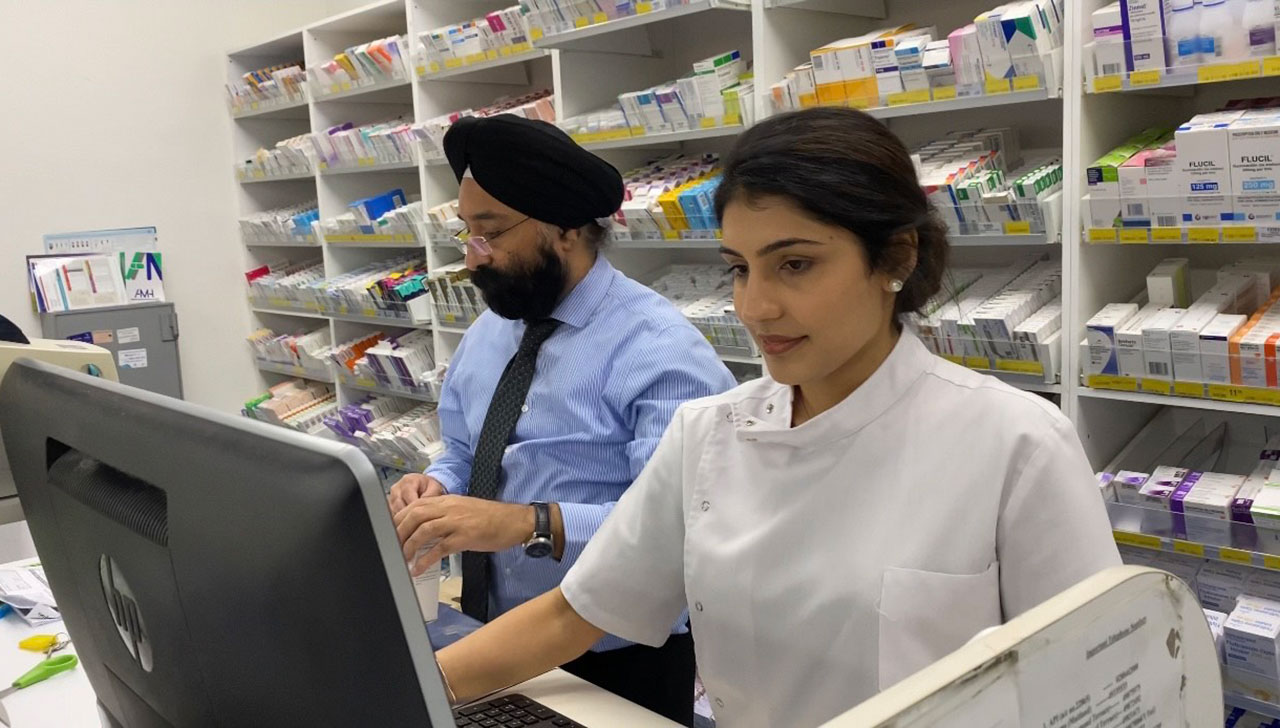 Depinder Chhibber MPS began her pharmacy career working alongside her dad.