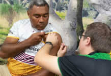 Queensland pharmacist MatthewHoy MPS has been administering COVID-19 vaccinations since March.