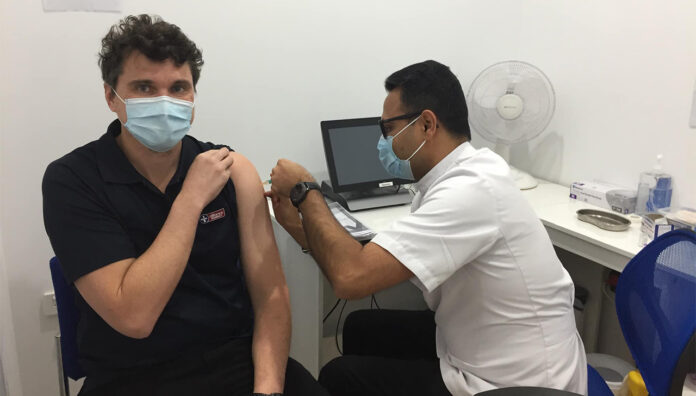 About 450 community pharmacies in New South Wales will be able to administer the AstraZeneca COVID-19 vaccine to patients under 40 years of age.